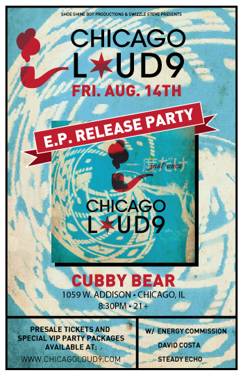 Chicago Loud 9 Cubby Bear